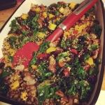 BUtternut Swuash & Quinoa Dressing