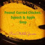 Peanut Curried Chicken, Squash & Apple Soup