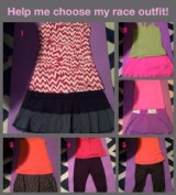Wordless Wednesday: Vote for my RaceOutfit