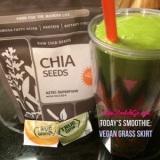 Saturday Smoothie: Vegan GrassSkirt