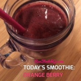 Sunday Smoothie: Orange Berry Smoothie
