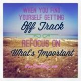Wellbeing Wednesday: The Art of Refocusing and a @TrueLemon GiveawayWinner