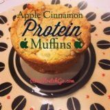 Healthy Recipe: Apple Cinnamon Protein Muffins