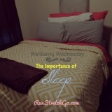 Wellbeing Wednesday: The Importance of Sleep