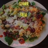 Healthy Recipe: Summer Chicken & Veggie Couscous Salad