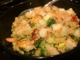 Healthy Recipe: Oat Risotto with Shrimp and Roasted Vegetables