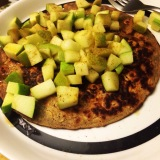Healthy Recipe: Peanut Butter Protein Pancakes with Sauteed Maple Apples